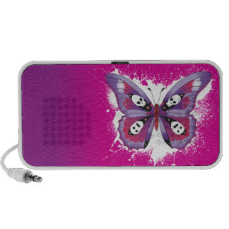 Butterfly Splatter Speaker