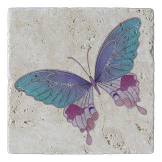 Butterfly Stone Trivet