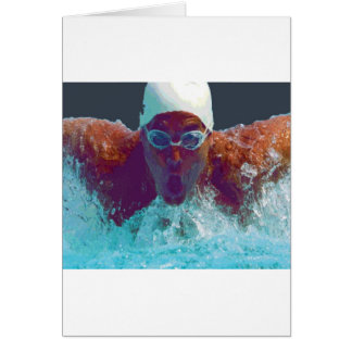 Butterfly Stroke Card