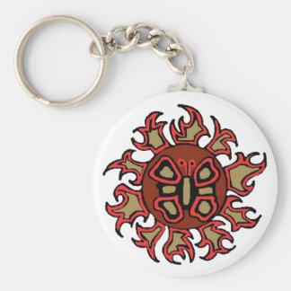 Butterfly Sun key chain