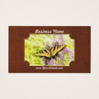 Butterfly - Swallowtail - Hard to swallow Business Card