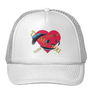 Butterfly Thank You Trucker Hats