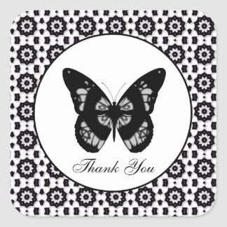 Butterfly: Thank You Sticker