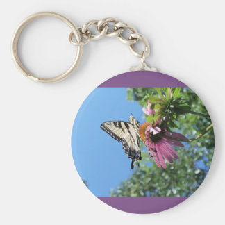 Butterfly (Tiger Swallowtail) Key Ring
