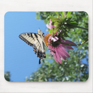 Butterfly (Tiger Swallowtail) Mouse Pad