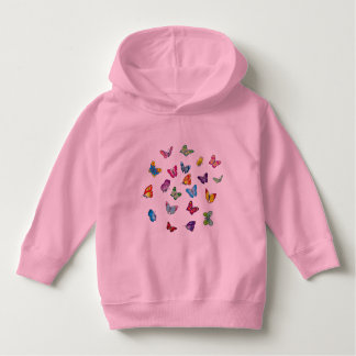 butterfly Toddler Pullover Hoodie