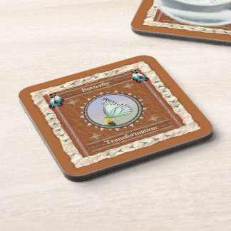 Butterfly  -Transformation- Cork Coaster Set of 6