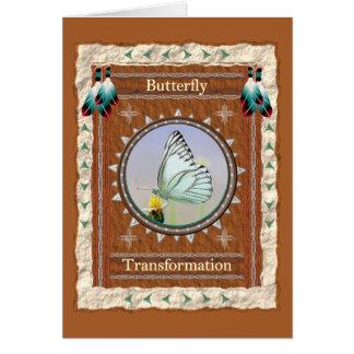 Butterfly  -Transformation- Custom Greeting Card