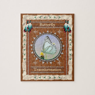 Butterfly  -Transformation- Jigsaw Puzzle w/ Box