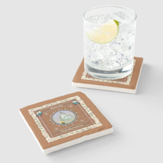 Butterfly  -Transformation- Marble Coaster