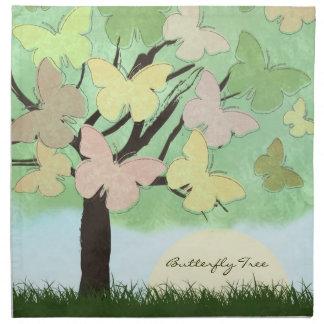 Butterfly Tree American MoJo Napkin