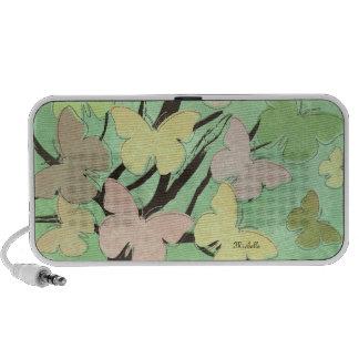 Butterfly Tree Doodle iPhone Speaker