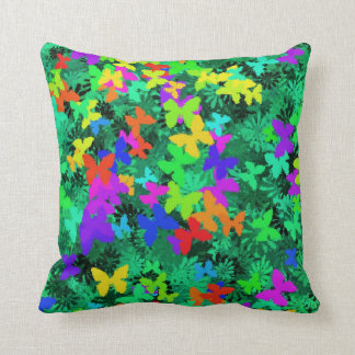 butterfly tree pillow