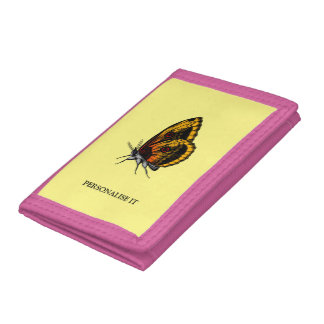 Butterfly Trifold Wallets