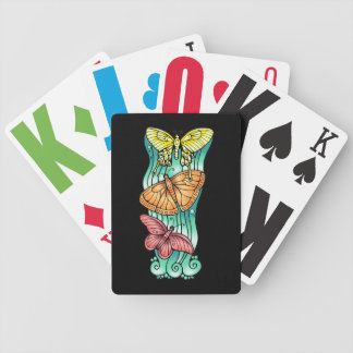 Butterfly Trio Bicycle Playing Cards