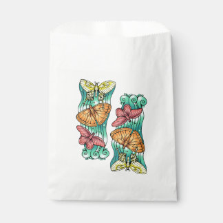 Butterfly Trio Favour Bag