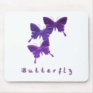 Butterfly Trio Mouse Pad