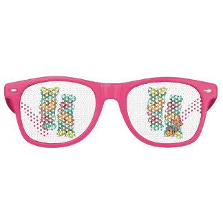 Butterfly Trio Retro Sunglasses