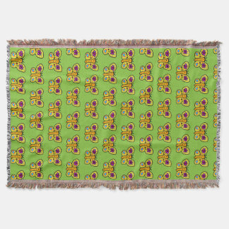 butterfly trow blanket cartoon