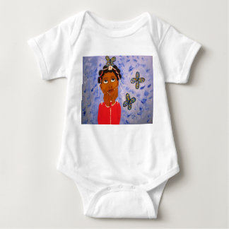 Butterfly Tshirt for Baby Girl - African American