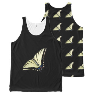 Butterfly Unisex Tank Top All-Over Print Tank Top