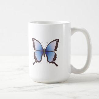 Butterfly: Vector Illustration: Basic White Mug