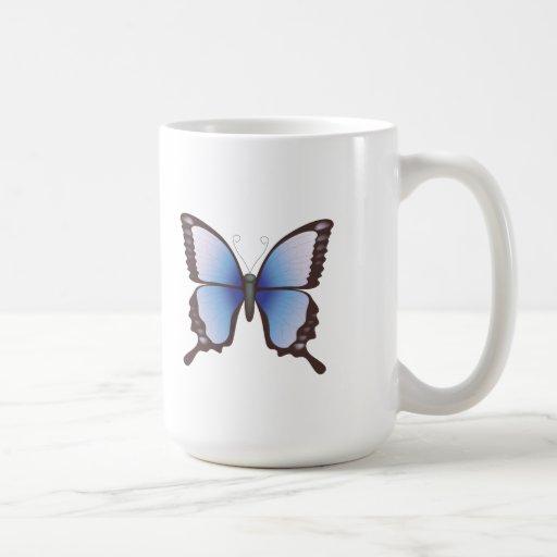 Butterfly: Vector Illustration: Mug