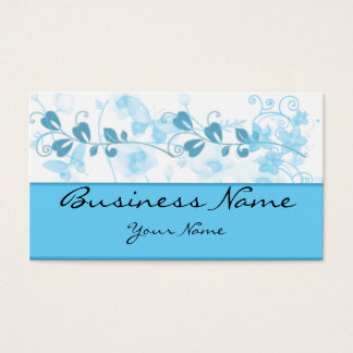 Butterfly Visions in Blue Business Card