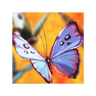 Butterfly Wall Canvas Gallery Wrapped Canvas