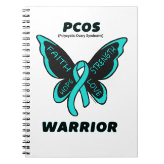 Butterfly/Warrior...PCOS Notebook