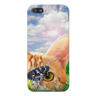 Butterfly Watcher Case For iPhone 5/5S