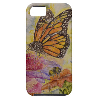 Butterfly Watercolor Design iPhone 5 Tough Case