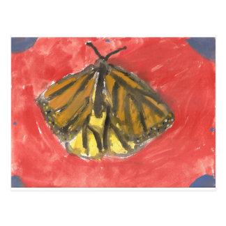 Butterfly Watercolor Postcard