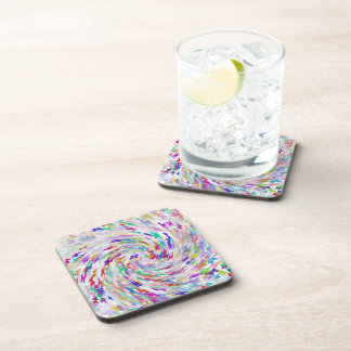 butterfly wave cork coasters set