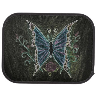Butterfly Web Car Mat
