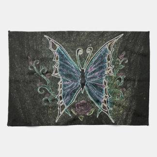 Butterfly Web Tea Towel