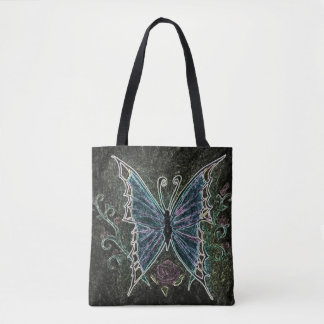Butterfly Web Tote Bag