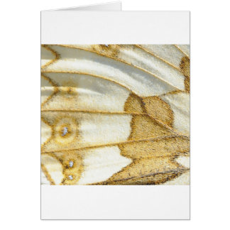 Butterfly Wing Design Card