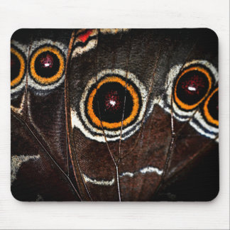 Butterfly wing mouse pad