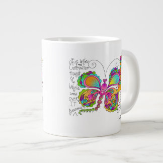 BUTTERFLY WINGS Mug by April McCallum