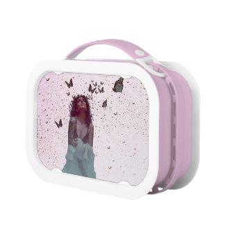 Butterfly Woman Lunch Box