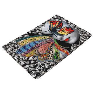 Butterfly woman mat