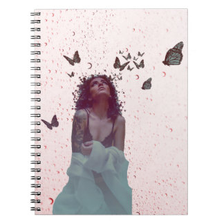 Butterfly Woman Notebook