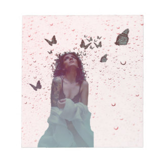Butterfly Woman Notepad