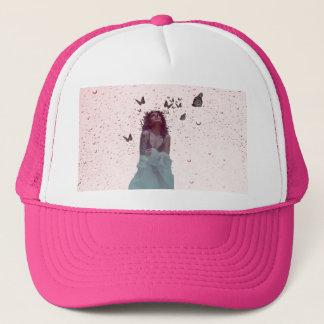 Butterfly Woman Trucker Hat