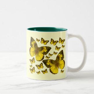 Butterfly Wonder Two-Tone Mug
