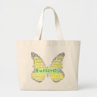Butterfly Word Pattern Bag