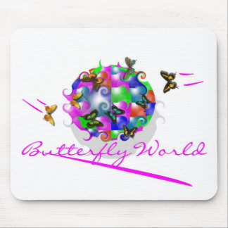 BUTTERFLY WORLD MOUSEPAD