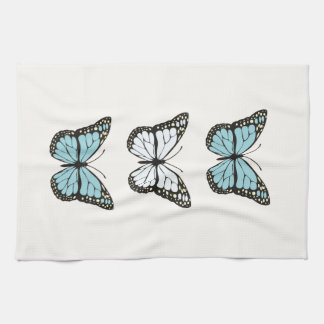 Butterflyers collection tea towel