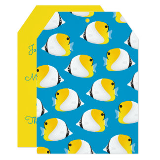 Butterflyfish Card